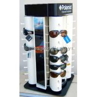 Custom Point Of Purchase Merchandising Spinner Eyewear Display Rack Countertop
