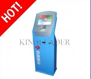 China Extra Slim Lottery Ticket Vending Kiosk With Card Reader in LINUX / Win3.X / 98/Win 7 on sale