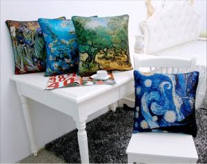 China Soft Embossing Decorative Silk Throw Pillows , Custom Sofa Back Cushion on sale
