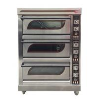 China Gas Tempered Glass Stainless Steel Baking Oven For Bread on sale