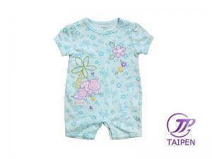 666dd5cb638a Safe 100% Cotton Anti - Pilling Short Sleeve Newborn Baby Romper ...