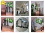 Miroir décoratif rond avec le miroir argenté de 2mm, 3mm, 4mm, 5mm, 6mm, miroir clair d'argent de flotteur