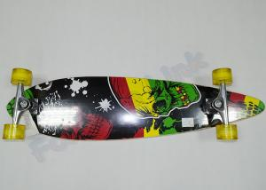 China Fish Shape 7ply Children Canadian Maple Wood Skateboards with Aluminum Truck on sale