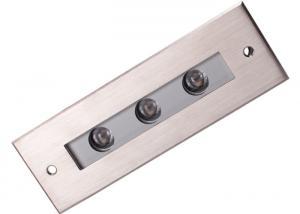 China Rectangle LED Underground Light DMX Control 60 Degree Beam Angle on sale
