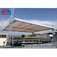 China High Hardness Aluminium Truss Beams / Non Rust Studio Lighting Truss on sale