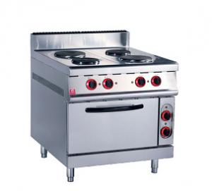China Countertop Commercial Stainless Steel Electric Stove Heavy Duty Long Life Time on sale