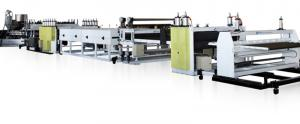 China PP PE PC Polycarbonate Sheet Extrusion Line Machinery on sale