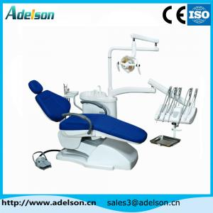 China 2015 new design dental chair leather cushion dental equipment on sale