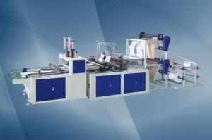 China High-Speed Plastic Bag Making Machine (BBHQ-350*4) on sale