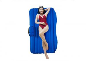 China Customized Size Inflatable Car Bed Eco Friendly Material 300KG Loading on sale