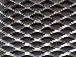 Hot Dip Galvanized Expanded Metal Screen Mesh Steel Sheet Diamond Shape Durable
