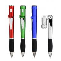 multifunctional promotional gift ball pen, led light plastic pen with nail cutter