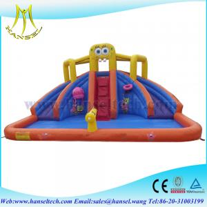 China Hansel Everest high!! Commercial TOP quality inflatable slide for adult&children on sale