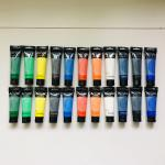 Artist's Acrylic painting Color Value Series 100ml & 75ml Phoenix