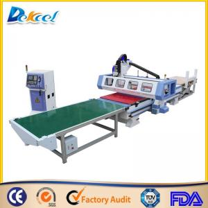 China Intelligent ATC Furniture production line Wood Cutting/Drilling Solution CNC Router Machine on sale