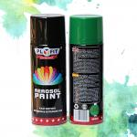 Metallic Acrylic Aerosol Paint Liquid Coating State For Metal / Wood / Glass