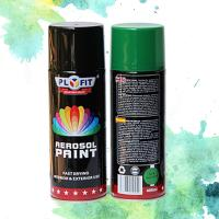 Purpose Aerosol Metallic Spray Paint Liquid Coating State For Metal / Wood / Glass