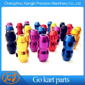 China CNC Machining AL6061 T6 Kart Cable Clamp for Brake & Throttle with competitive price on sale