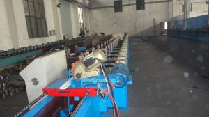 China Customize Insulated PU Roller Shutter Door Roll Forming Machine With Chain Transmission on sale