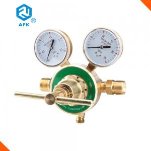 China Brass Large Flow Single Stage Propane Pressure Regulator with Safety Valves on sale