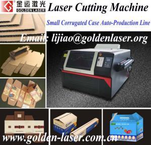 China Laser Cardboard Cutting Machine On Sale on sale