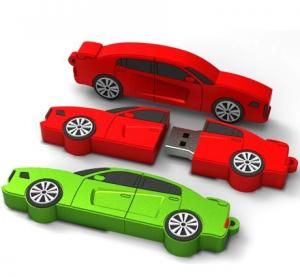 China car usb flash drives  gift usb flash disk  red car usb flash drives on sale