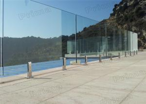 Quality Customzied 316s/s Frameless Glass Balustrade 304s.s Glass Railing For Swimming Pool for sale