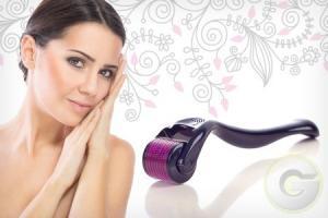 China 540 Titanium Micro Needle Derma Roller on sale