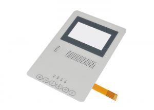 China FPC Circuit Capacitive Membrane Switch , Transparent Window Membrane Panel Switch on sale