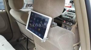 China Tablet car mount kiosk tablet kiosk for automobile ipad kiosk for automobile,wall mount ipad enclosure on sale