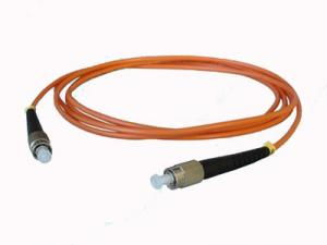 China Videos Fibre Optic Patch Cord Low Insertion Loss , FC - FC Fiber Connector on sale