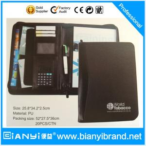 China Fireproof PU document bag on sale