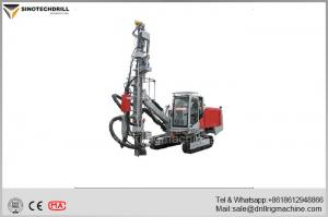 China Hydraulic  DTH Drill Rig Equipped With Atlas Copco'S Machine 21m Depth on sale