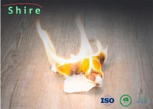 China Fireproof Indoor SPC Rigid Core Vinyl Flooring Click Lock Vinyl Flooring ISO9001 Approved on sale