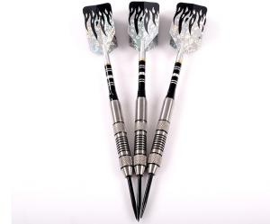 Quality Color Coated Steel Tip Tungsten Darts With Shafts Flights for sale