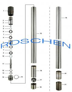 China Conventional Double Tube Core Barrel Assembly For Geotechnical Drilling Equipment on sale