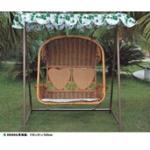 Cadeira de suspensão do rattan do PE, cadeira sintética do balanço do rattan, #1120