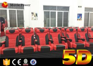 China 100 Square Meters 4D Cinema Equipment with 100 Seats Electric System and Special Effects Popular to Theme Park on sale