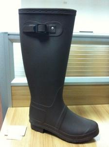 China Fashion Dirty-resistant Knee Rain Boots For Women And Ladies on sale
