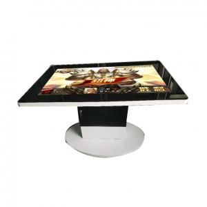 """China Infrared Multi Touch Screen Table , Full HD Interactive Media Table AR Glass Surface 43"""" 55 on sale"""