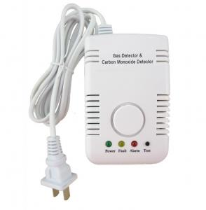 China Home LP CO Gas Detector Alarm Monitoring Home Security Plug In Manufacturers In China on sale