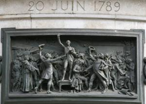 Quality Wall Art  French Revolution Bronze Relief For Outdoor Garden Decoration for sale