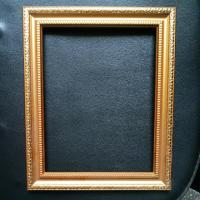 Fashion Gold Plastic beautiful picture frame designs wedding wood photo frame / love frames photo