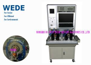 China Automatic Armature Testing Machine Double Stations For Rotor 0 - 2800V Hi - Pot Range on sale