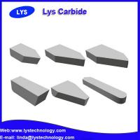 YG6 carbide brazed tips for cutting machines