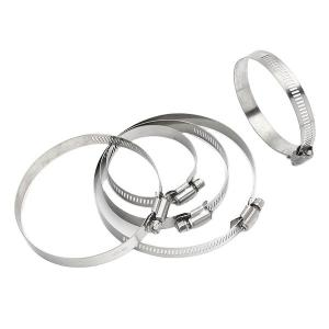 China Stainless Steel 12mm Worm Gear Drive Hose Clamp on sale