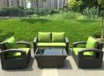 Modern Aluminium PE Rattan Outdoor Wicker Sofa sets Garden wicker Patio sofa furniture