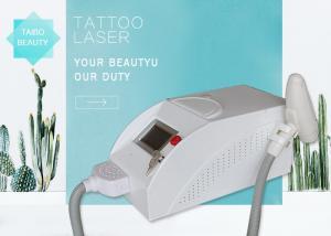China Mini Nd Yag Laser Tattoo Removal Machine , Carbon Skin Rejuvenation Equipment on sale