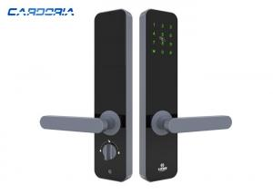 China Anti Peep Apartment Electronic Door Locks , Nfc Card Door Lock For Access Control on sale