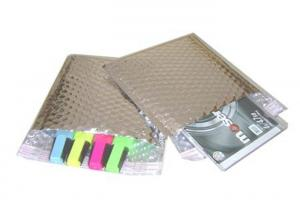 China Metallic Jiffy Padded Mailers , Metallic Foil Bubble Bags For Express Delivery on sale